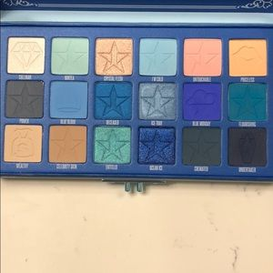 Blue Blood Palette from Jeffree Star cosmetics